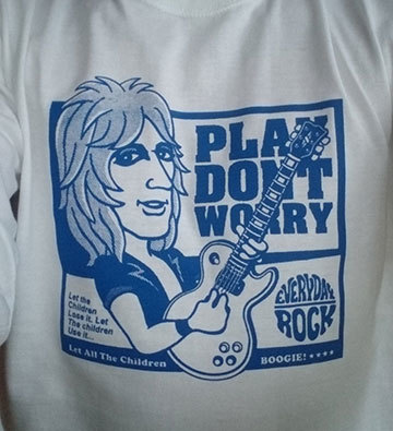 Mick Ronson T Shirt caricature