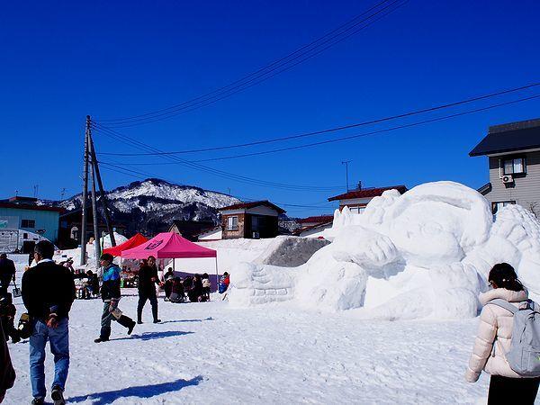 大割野特設会場@つなん雪まつり