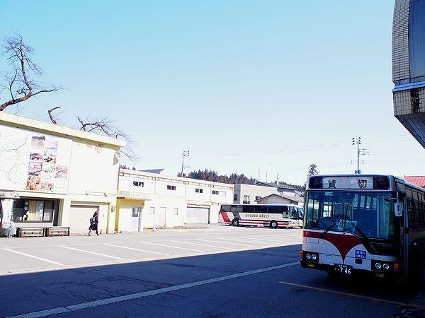 シャトルバス@つなん雪まつり