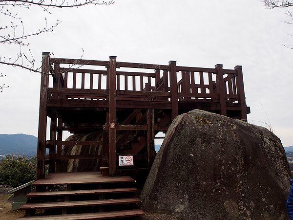苗木城の展望台