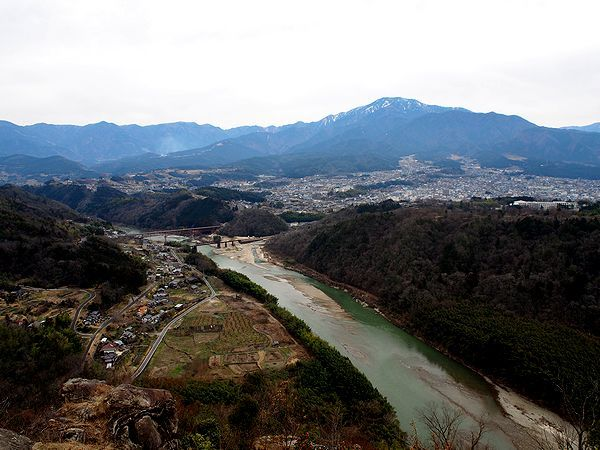 苗木城からの絶景