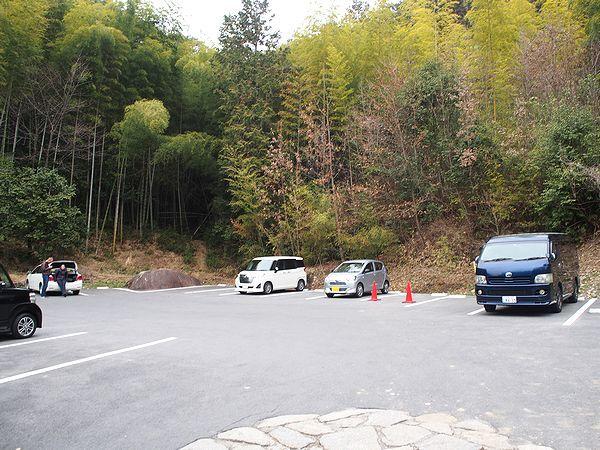 苗木城の駐車場