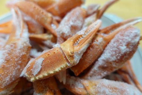 明田鮮魚店 紅ずわい爪 1kg (8)