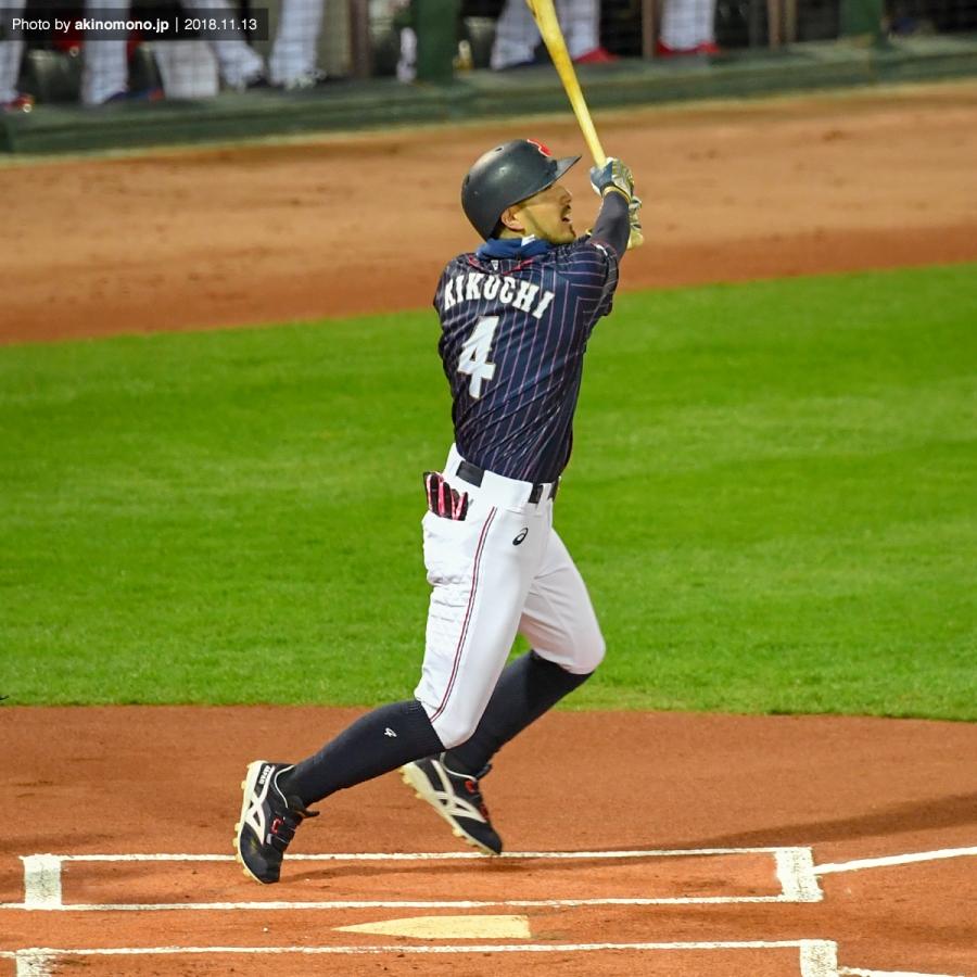 「2018日米野球」での菊池涼介選手