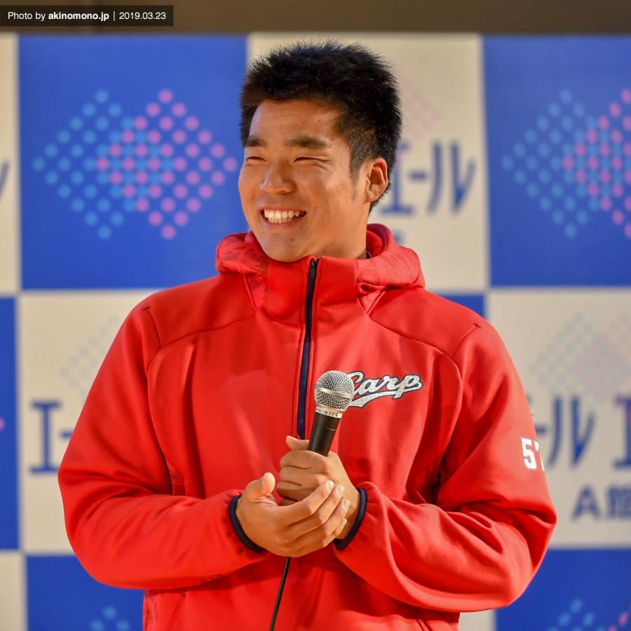 ドラフト5位ルーキーの田中法彦投手