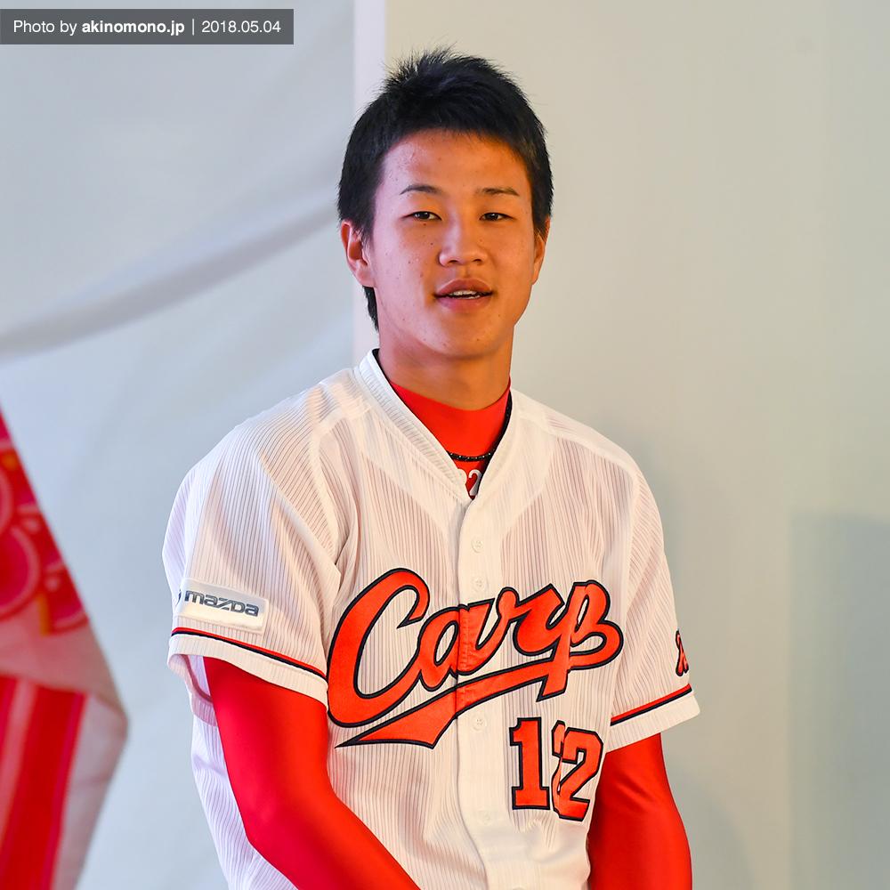佐々木健投手(2018年)