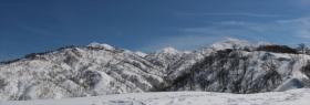 北岳パノラマ1m3