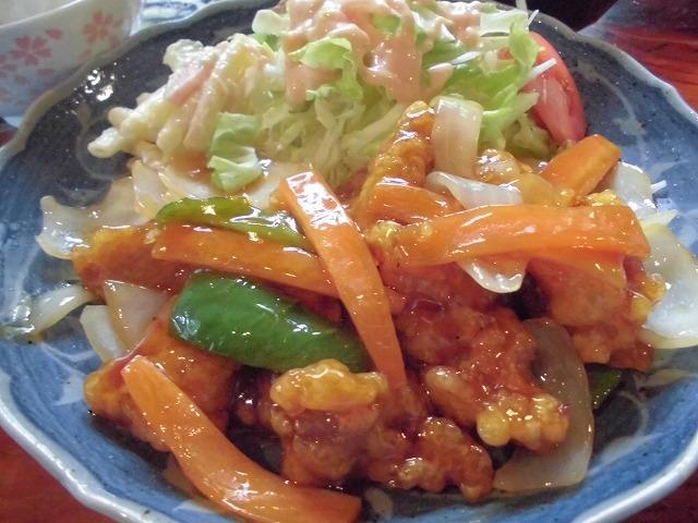 よってみ亭の酢豚定食・奄美大嶋観光ガイド