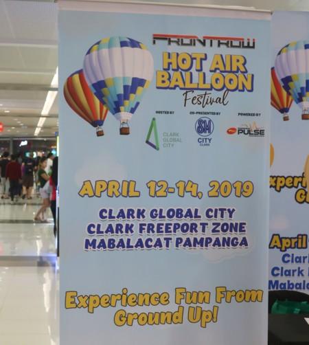 hot air balloon fest2019 schedule
