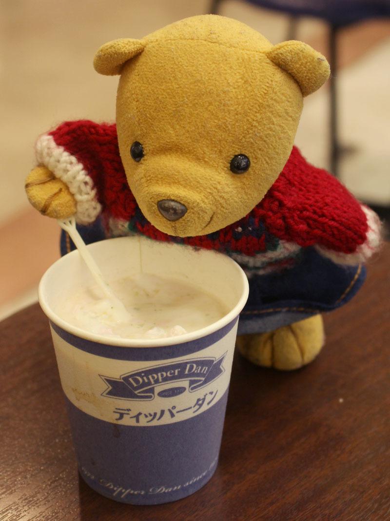 ホットコーヒーにクレープのクリームを ディッパーダン沼津店 190315