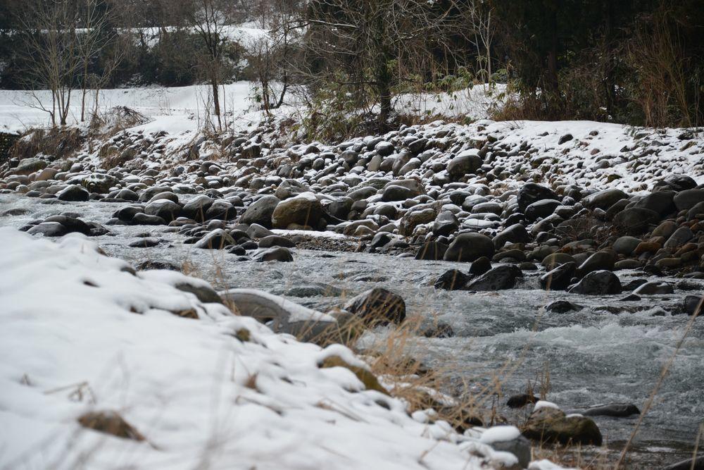 五十嵐川雪景色-3