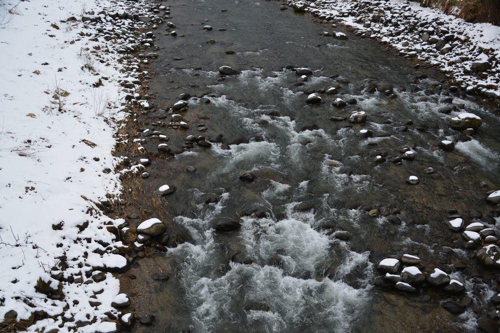 五十嵐川雪景色-4