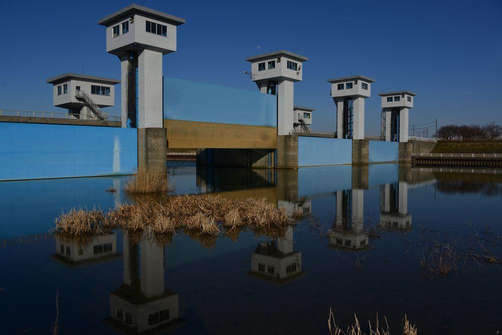 水鏡 堰-2