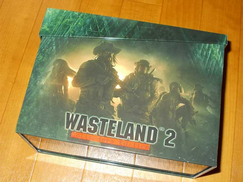 Kickstarter Reward Wasteland 2 Collector's Edition Premium Boxed Version