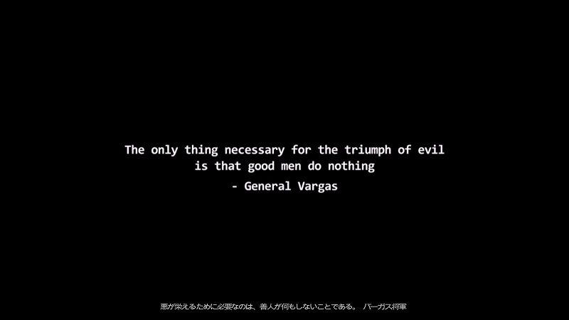 PC 版 Wasteland 2 Director's Cut 日本語化、スクリーンショット - 悪が栄えるために必要なのは、善人が何もしないことである。 バーガス将軍