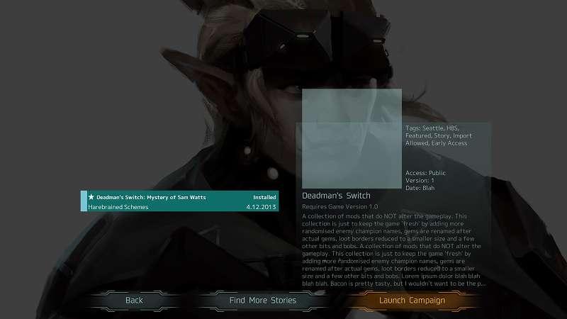 Steam 版 Shadowrun Dragonfall Director's Cut - Dead Man's Switch 日本語化してキャラクター作成後、NEW GAME を選択すると表示が少しバグってゲームスタートができない、言語を英語に変更してゲームを再起動すれば言語変更中のみ直る