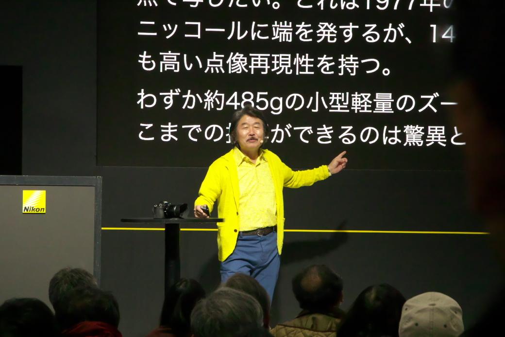 ニコンのブースでのトークショーほか_1