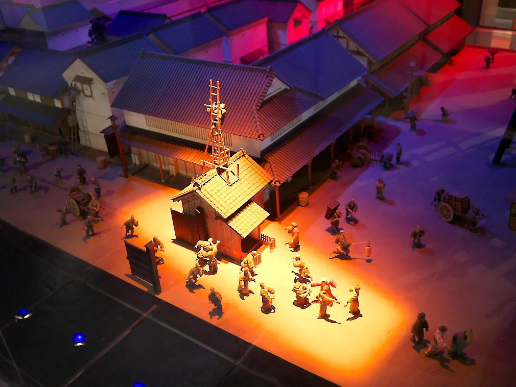 江戸の消防活動の模型_1