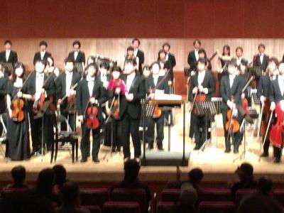 交響曲第4番終了