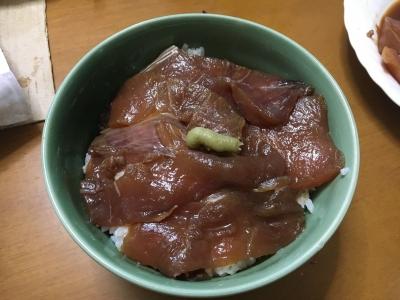 ブリのヅケ丼