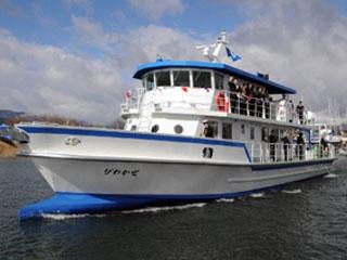 琵琶湖環境科学研究センターの調査船びわかぜ