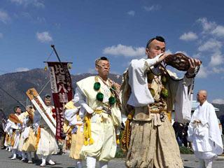 3月26日に大津市南小松で執り行われた比良八講