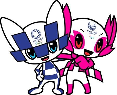 2020年東京五輪・パラリンピックの公式マスコットの名前が「ミライトワ」(五輪)と「ソメイティ」(パラリンピック)に決まった