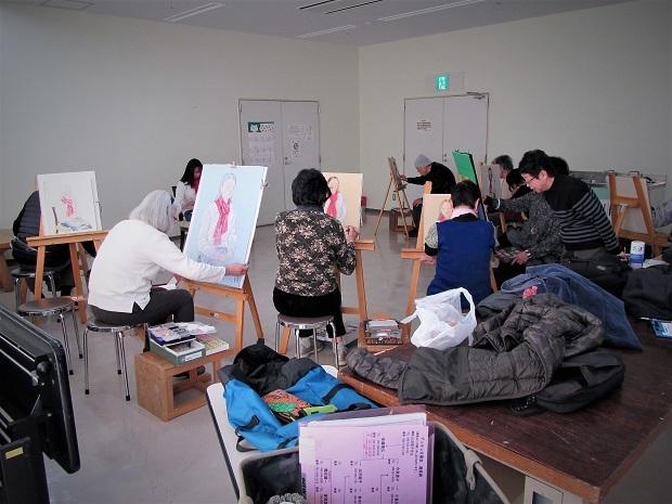 19.3.18 絵の教室・西部文化センターの最終日 (72)