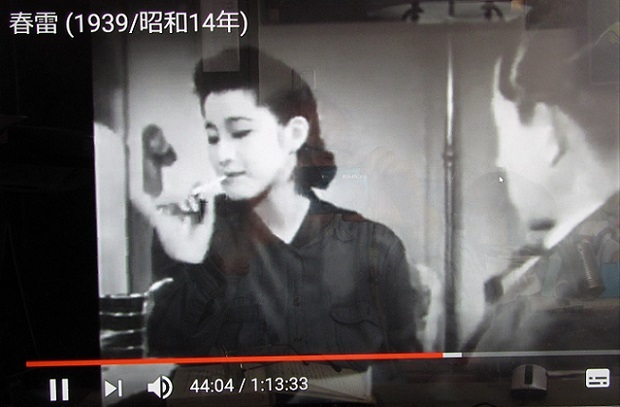 19.3.24 youtube 秋日和、秀子の車掌さん、春雷。この人・松山善三、松本清張 (65)