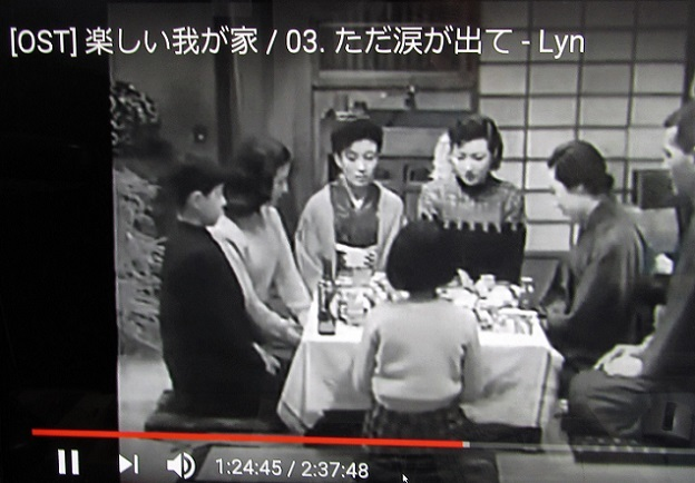 2 19.3.22 Youtube、1951年 中村登監督