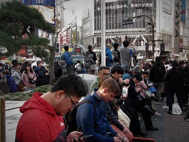 渋谷スクランブル交差点  (22)