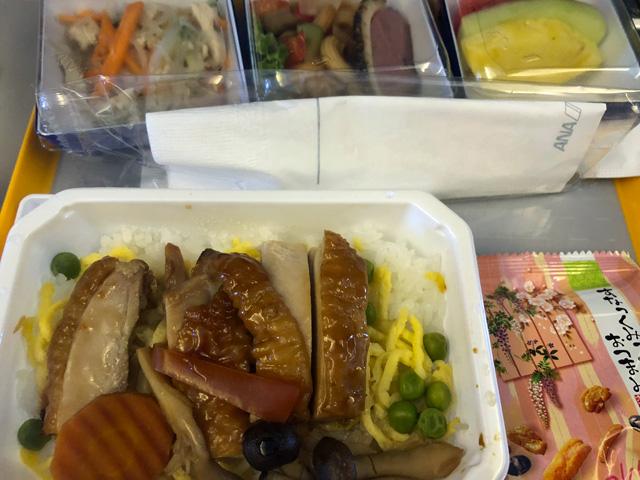 ANA復路の機内食