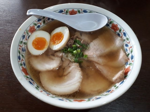 浦咲・H31・1 三味ちゃーしゅーめん味玉