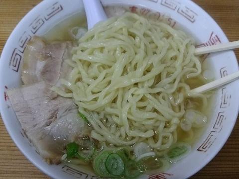 坂内食堂・H29 11 肉そば 麺