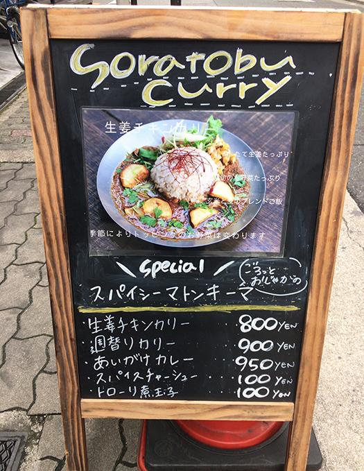 soratobucurry(空飛ぶカレー)心斎橋 (2)