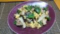 きくらげ入り豚肉と卵の炒め物 20190325