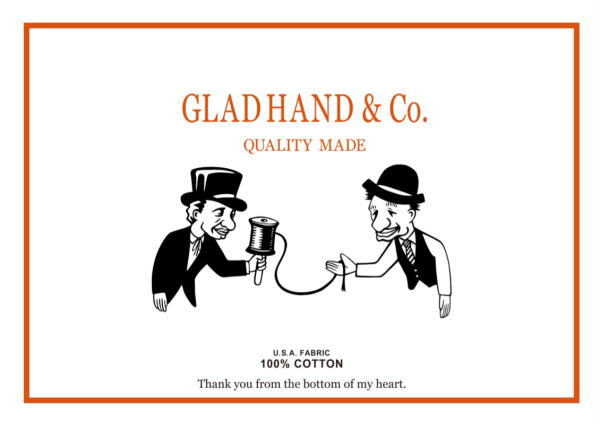 GLAD HAND PACK-T 2019 AUTUMN&WINTER