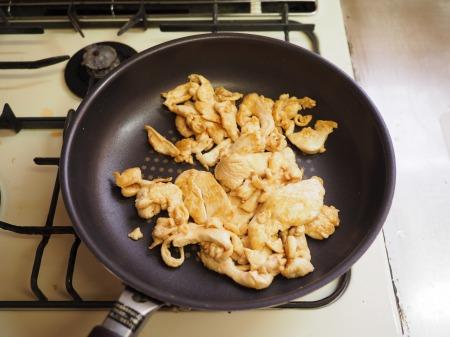 鶏むね肉とキャベツの生姜味033