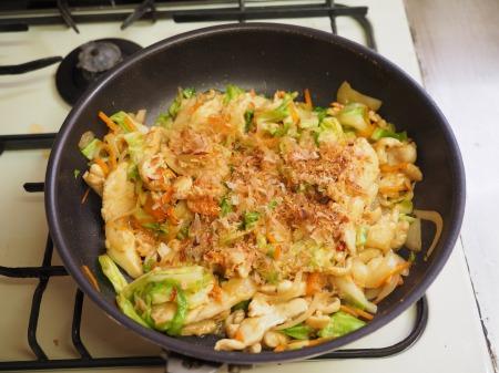 鶏むね肉とキャベツの生姜味045