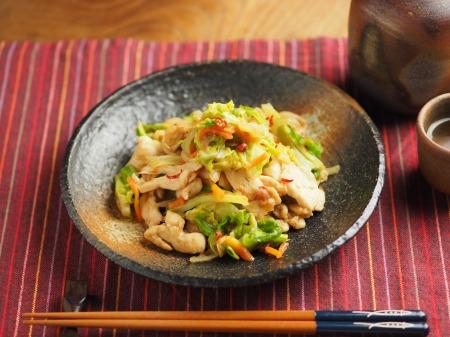 鶏むね肉とキャベツの生姜味013