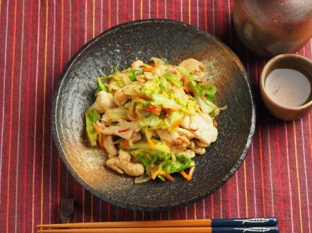 鶏むね肉とキャベツの生姜味015