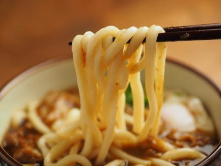 残ったカレー、麺つゆ、うどん019