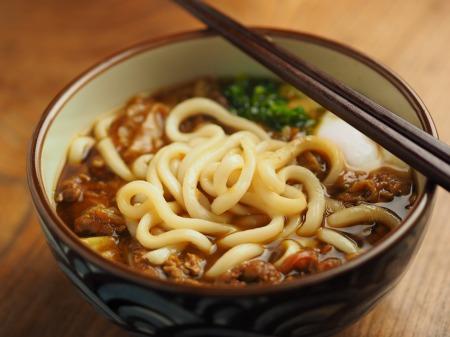 残ったカレー、麺つゆ、うどん020
