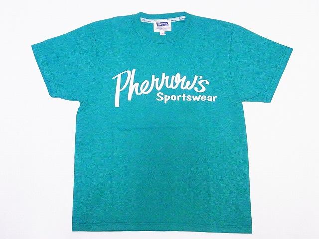 フェローズ Pherrow's Tシャツ 19S-PT1