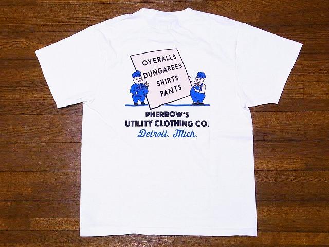 フェローズ Pherrow's Tシャツ 19S-PT6
