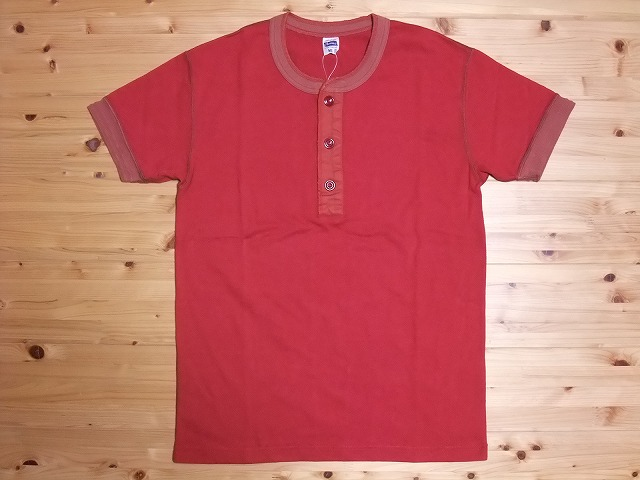 フェローズ Pherrow's Tシャツ ヘンリーネック PHT