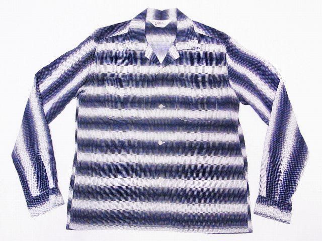 スターオブハリウッド 長袖オープンシャツ SH28121