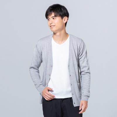 カシミアタッチカーディガン メンズ 春 秋 2019