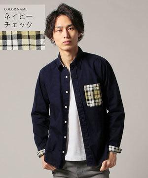 春メンズファッション2019 シャツ ストライプ チェック3