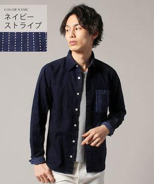 春メンズファッション2019 シャツ ストライプ チェック5
